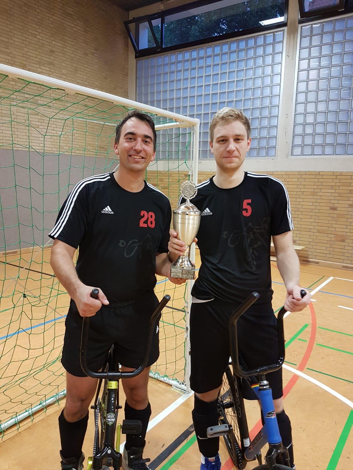 Pannach / Petsching sind NRW-Pokalsieger
